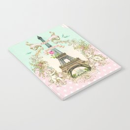 Bonjour Paris Notebook