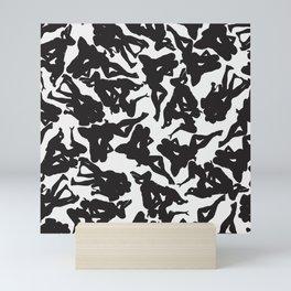 3 Silhouettes Mini Art Print