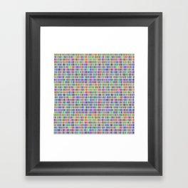 1 million days Framed Art Print