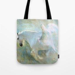 The Majestic Pegasus Tote Bag