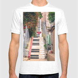 Piano <3 Staircase T-shirt