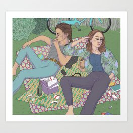 park days Art Print