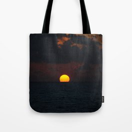 melting sun Tote Bag