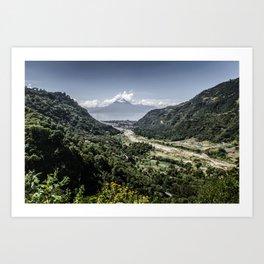 Lake Atitlan Art Print