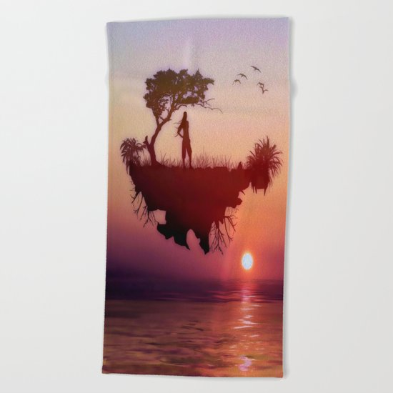 LANDSCAPE - Solitary sister Beach Towel