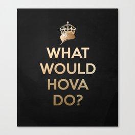 Hova V2 BLK Canvas Print