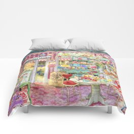 The Little Cake Shop Comforters