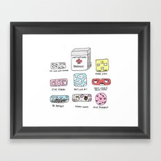 Emotional First Aid Kit Framed Art Print