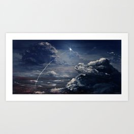 Andromeda Bound Art Print