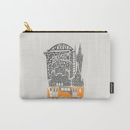 Glasgow Cityscape Carry-All Pouch