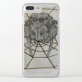 Salticidae Clear iPhone Case