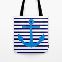 sail Tote Bags featuring Sail by M Studio