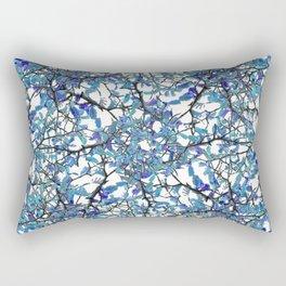 Modern Nouveau Pattern Rectangular Pillow