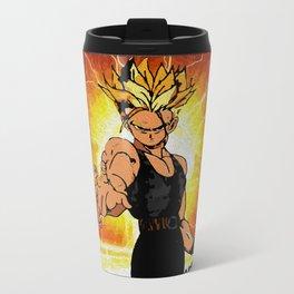 Dragonball Z Trunks sketch colored Travel Mug