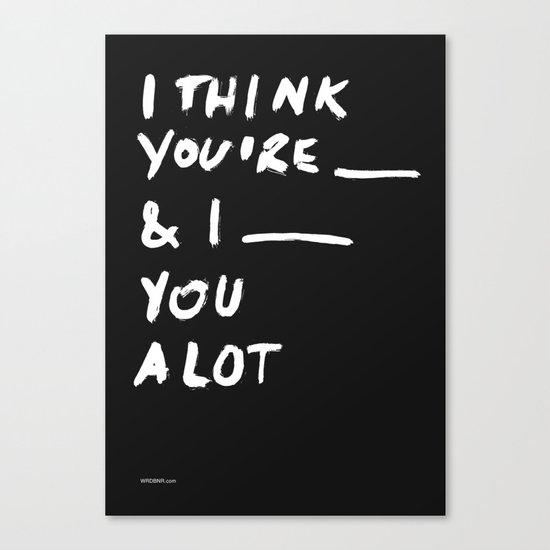 ____ Canvas Print