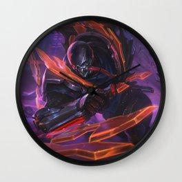 PROJECT: Pyke Skin League of Legends Wall Clock
