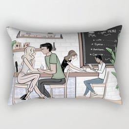 The Third Place Rectangular Pillow