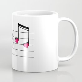 Music love concept Coffee Mug