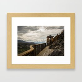 Outside the Lines Framed Art Print