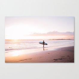 Venice Beach Surfer Canvas Print