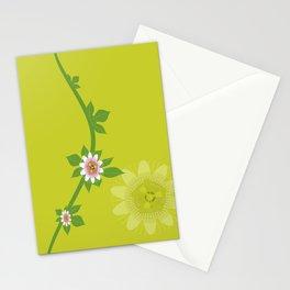 Maracuja flower Stationery Cards