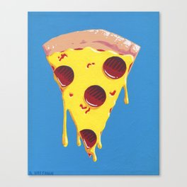 Give Me A Pizza Your Mind Canvas Print