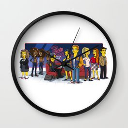 Friends from Riverdale Wall Clock
