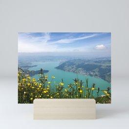 The View from Mount Rigi Mini Art Print