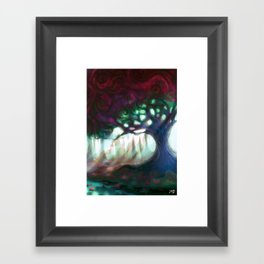 old tree Framed Art Print