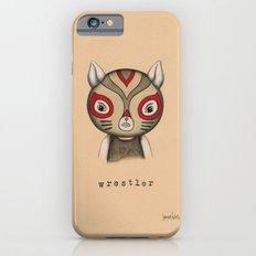 Cat Wrestler iPhone 6s Slim Case