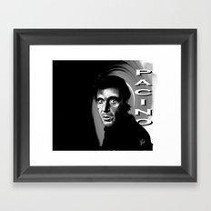 Al Pacino Framed Art Print