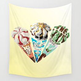 The Cornetto Trilogy Wall Tapestry