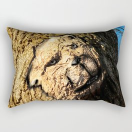 grumpy Barkbear Rectangular Pillow