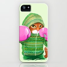 BOXING CAT 4 iPhone SE Slim Case