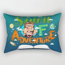 Spirit of Adventure Rectangular Pillow