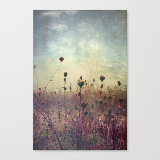 Her Mind Wandered in Beautiful Worlds Canvas Print