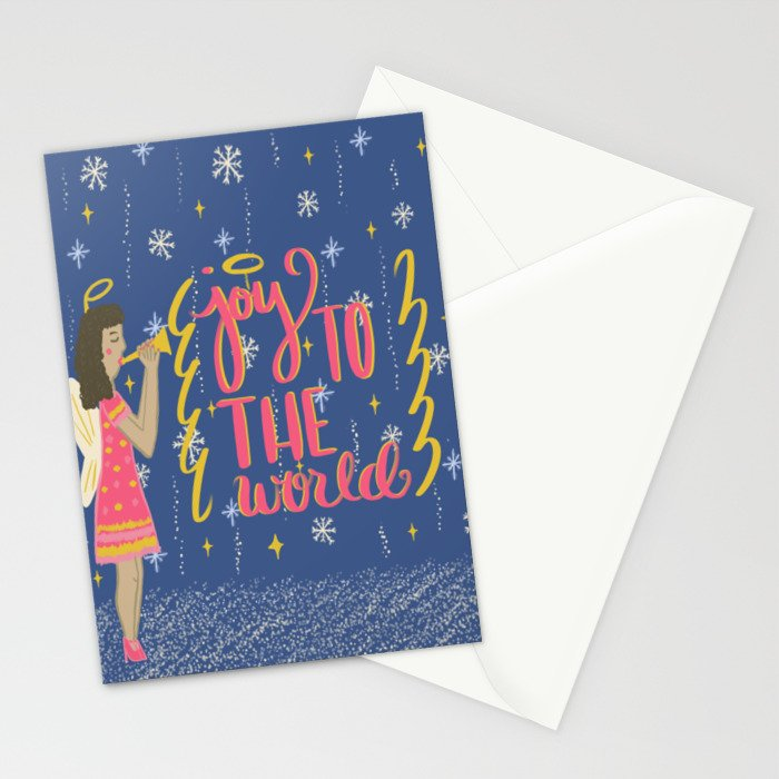 Joy To The World Stationery Cards