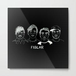 Fidlar (Inverted) Metal Print