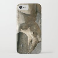 rhino iPhone & iPod Cases featuring Rhino by Cindy Munroe Photography