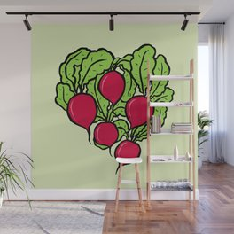 Love for Radishes Wall Mural