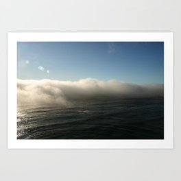 Cloudbank - 2 Art Print