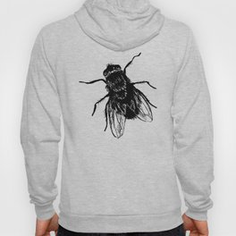 Drawing house-fly Hoody