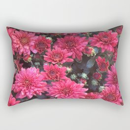 Blushing Bush Rectangular Pillow