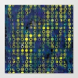 gold&blue Canvas Print