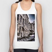 the neighbourhood Tank Tops featuring Character Building I by JeraNour