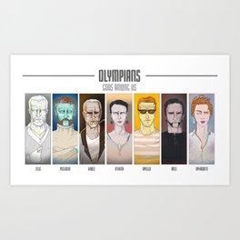 olympians Art Print