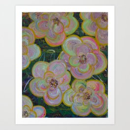 My flowers Art Print