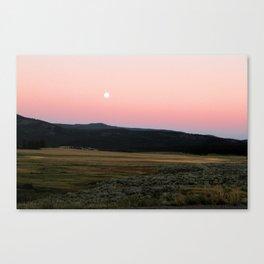 Sagebrush Sunset Canvas Print