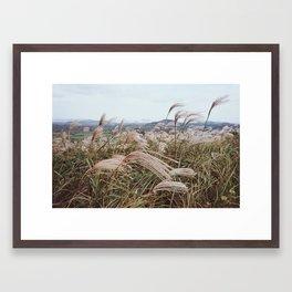 WHERE THE WIND BLOWS (2017) Framed Art Print