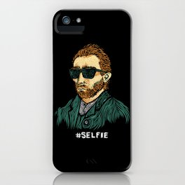 Van Gogh: Master of the #Selfie iPhone Case